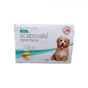 SCABOVATE DOG SOAP-75 GMS (PACK OF 3)
