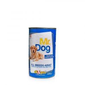 MR.DOG CHUNKS WITH CHICKEN LIVER