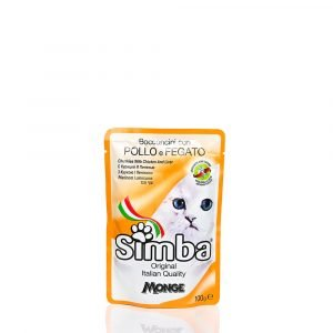 SIMBA CHUNKIES CAT FOOD WITH CHICKEN & LIVER (PACK OF 5) Online at Best Price In India | All4pets