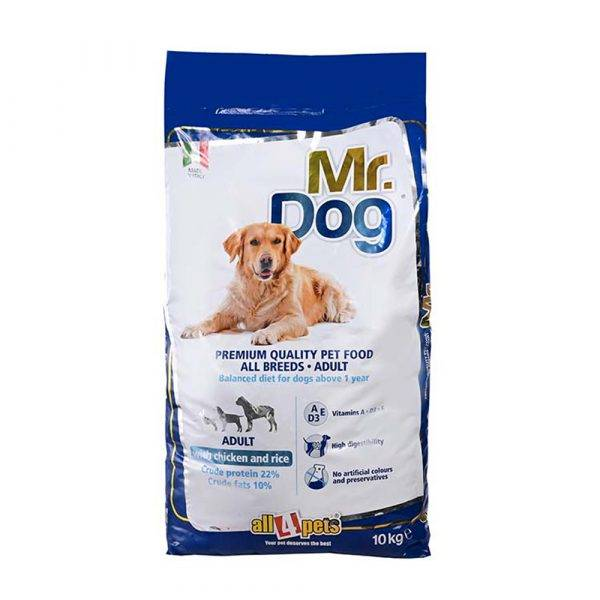 Mr. Dog All Breeds Adult With Chicken