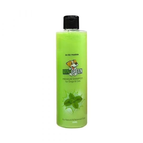 Pet Shampoo Mint Green