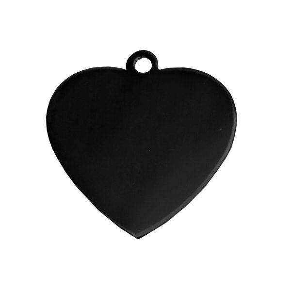 Pet Engraved-Name Tags-Heart Shape