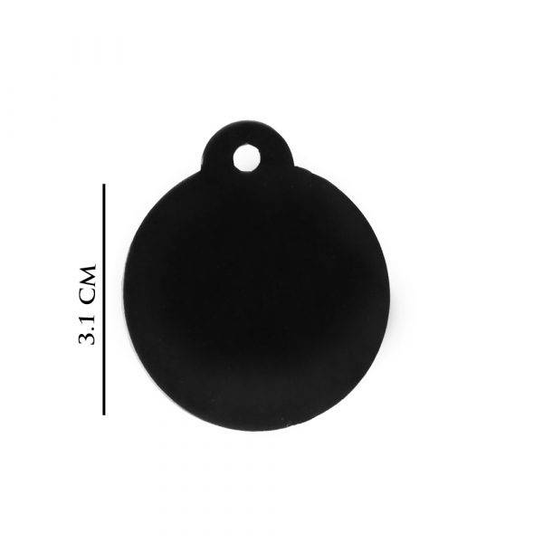 Pet Engraved Name-Tags Round-Shape
