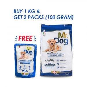 Dog Food Combo MR DOG ALL BREEDS