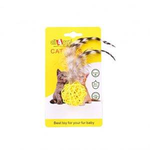 Cat Toys-With-Feathers