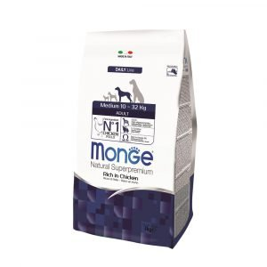 Buy Monge Daily Line Medium Adult Dog Food