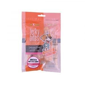 Jerky Bites-Chicken Liver Chips