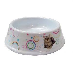 All4pets Plastic Pet Bowl-M(11 cm