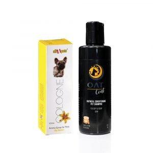 Dog Shampoo/ Cologne Combo Oat Coat Shampoo & Lilly Flower Cologne