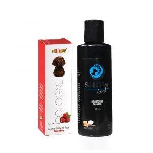 Dog Shampoo & Cologne Combo Show Coat Shampoo & Cologne Raspberry