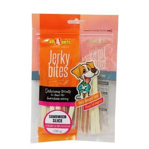 Jerky Bites–Sandwich Slice